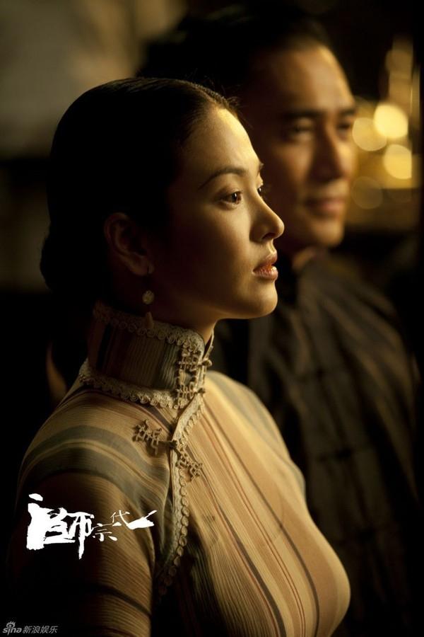 Tạo hình của Song Hye Kyo trong phim Nhất Đại Tông Sư.(Ảnh: Internet)